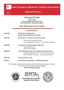 IEMTA Spring Programme 2016